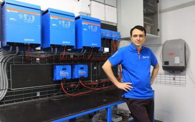 "Tudor Rosca (EcoElectric): ""La echipamentele Victron pretul vine de la calitatea efectiva."""